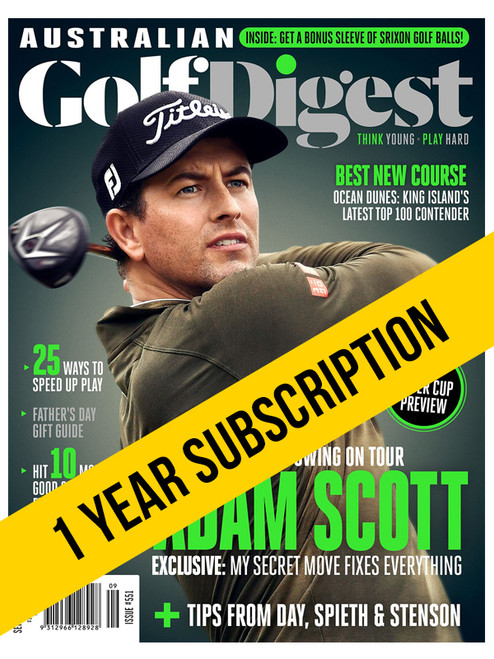Australian Golf Digest 1 Year Digital Subscription
