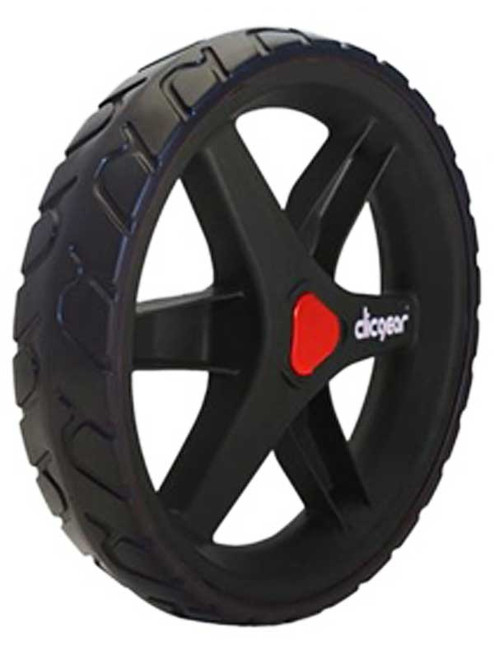 Clicgear 3.5+ Front Wheel Black