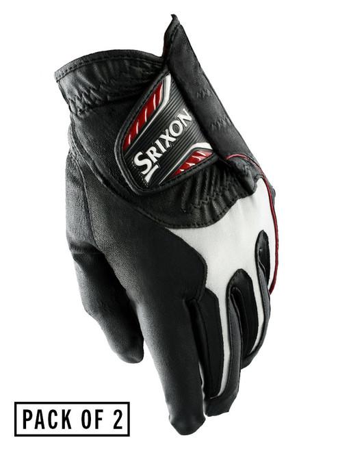 Srixon All Weather Pack Of 2 Golf Gloves - Black