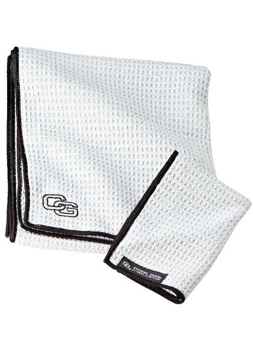 Club Glove Caddy Towel White