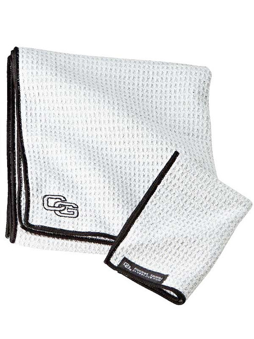 Club Glove Caddy Towel White