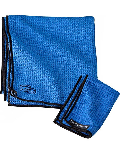 Club Glove Caddy Towel Royal