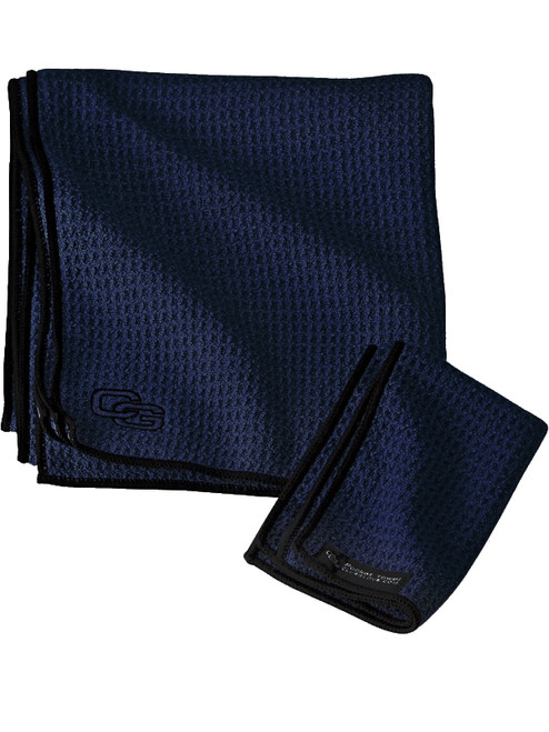 Club Glove Caddy Towel Navy