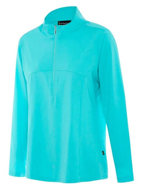 Birdee Golf Ladies Breeze UV Long Sleeve Top - Aqua