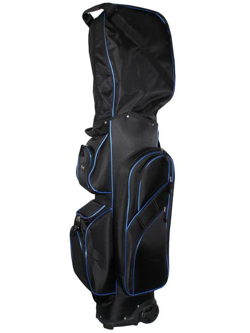 Stonehaven Ferrier Wheeled Travel Bag Black/Blue