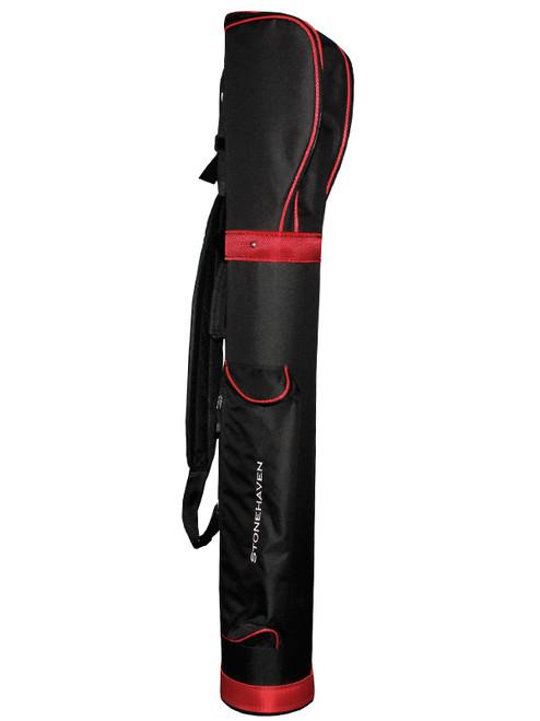 Stonehaven Scott Pencil Bag Black/Red