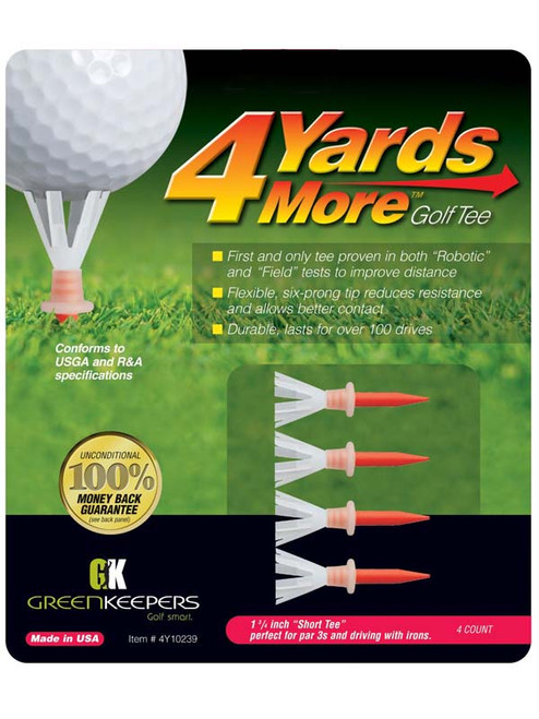 4YARDSMORE Golf Tees 4 Pack 1.75 Inch
