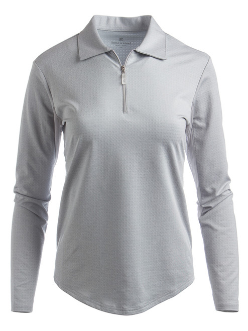 Bette & Court Ladies Cool Elements Swing Polo - Feather Grey