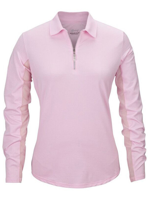 Bette & Court Ladies Cool Elements Swing Polo - Pink