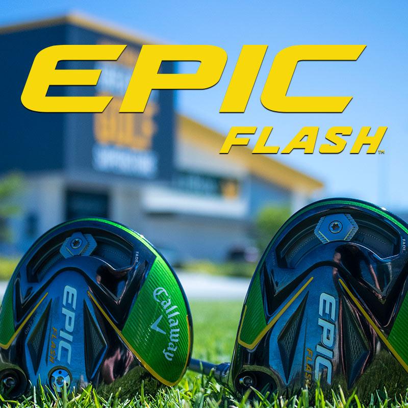 Callaway Epic Flash Drivers & Fairways - GolfBox