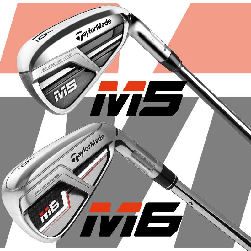 TaylorMade M5 & M6 Irons - GolfBox