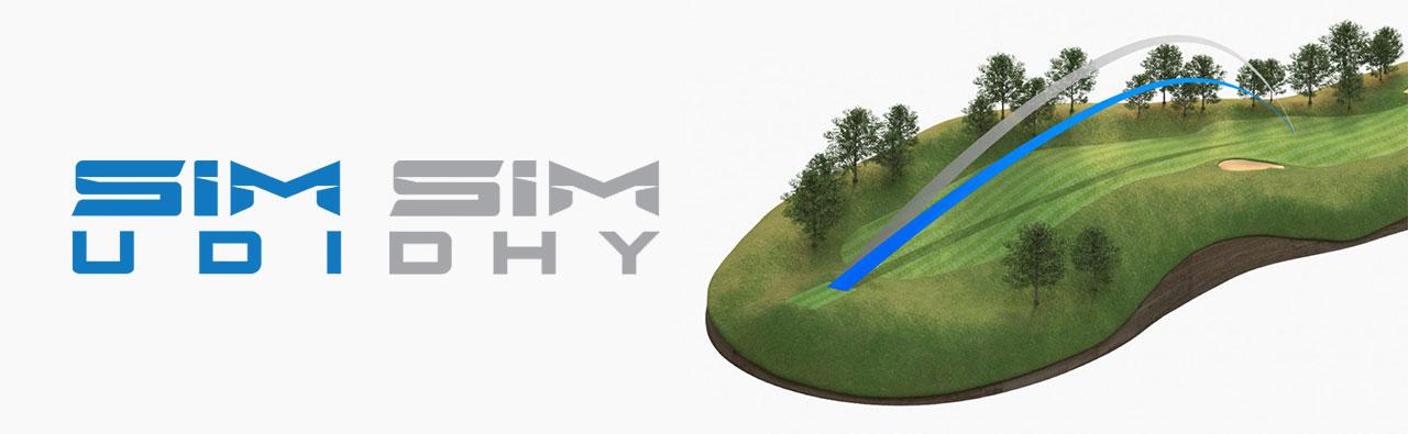 TaylorMade SIM UDI - SIM DHY Ball Flight Launch
