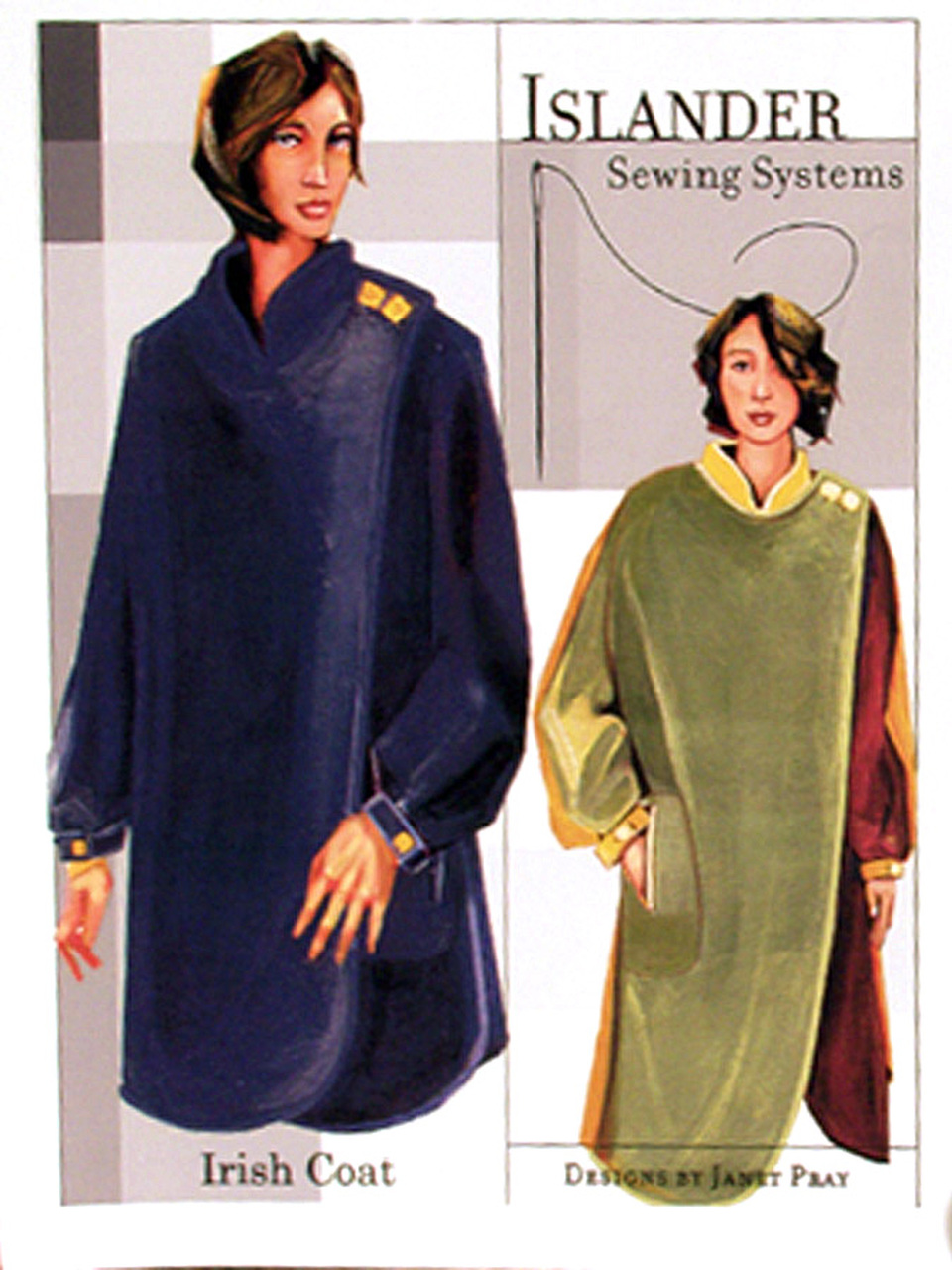 ow irish coat pattern islander sewing