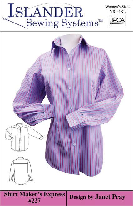 Women's Shirt Maker's Express Downloadable 1X-4X