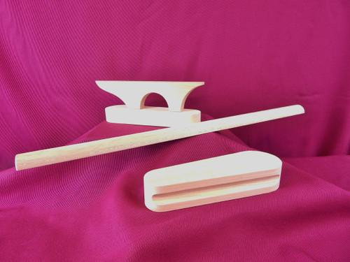 Wooden Pressing Tools Bundle - Retail Value $86.98 - Special Bundle Price $78