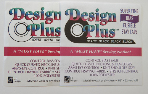 T Design Plus Super Fine Bias Fusible Stay Tape