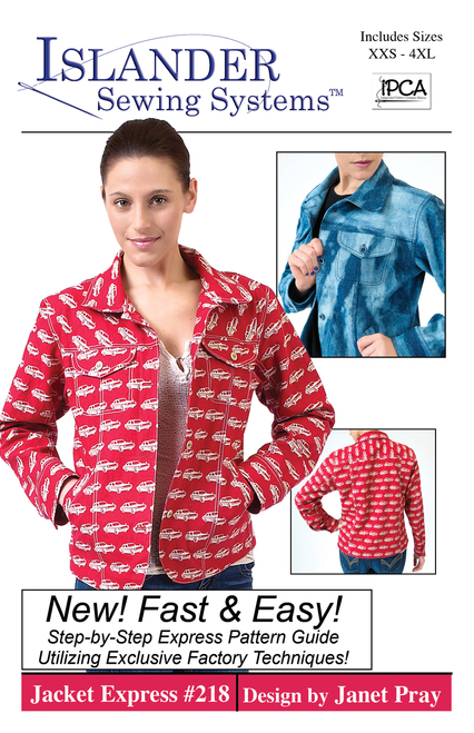 OW - Jacket Express XXS - 4X Downloadable