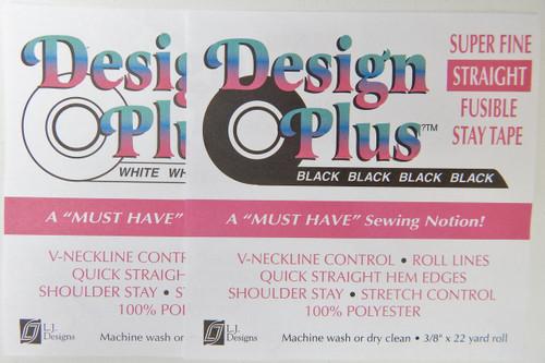 T Design Plus Super Fine Straight Fusible Stay Tape