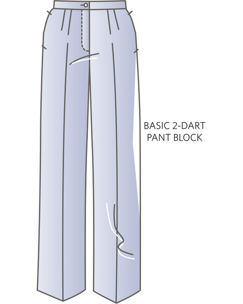 A-CS1502 Pant Slopers / Block