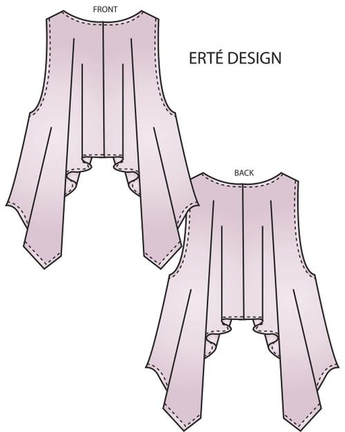 Erte Wrap, Circular Wrap, and Cocoon Wrap
