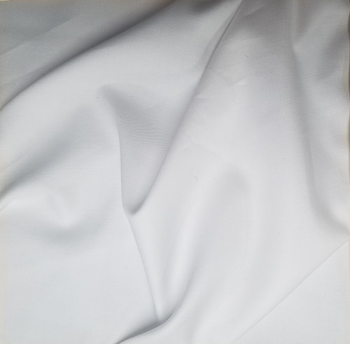 Solid: Premium White Shirting,  $9 per half yard