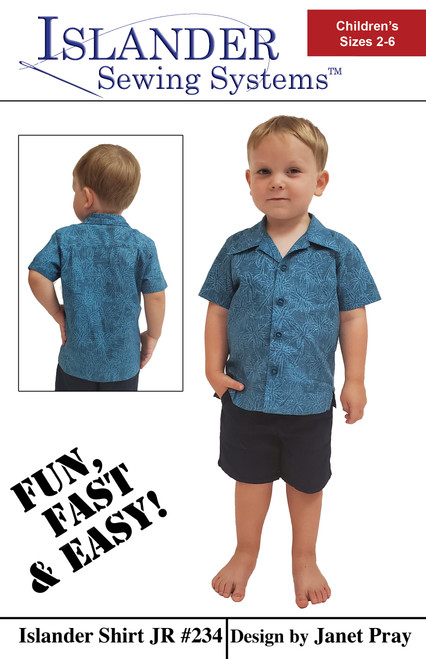 Islander Shirt Jr - Sizes 2 - 6