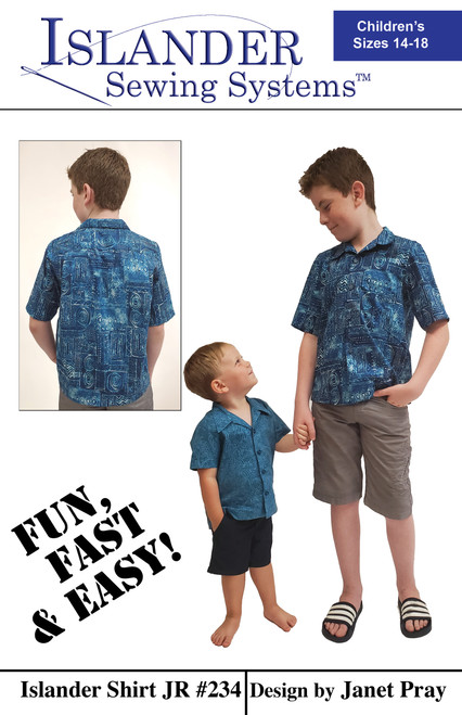 Islander Shirt Jr - Sizes 14 - 18