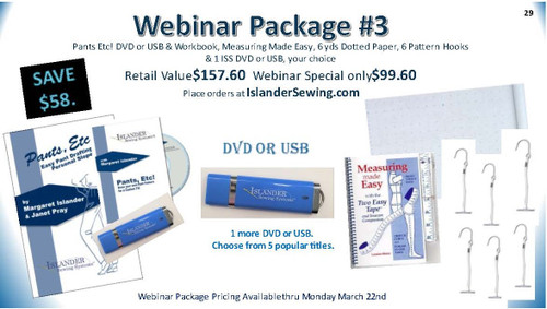 Webinar Package #3 - Retail Value $157.60 for $99.60 Save $58