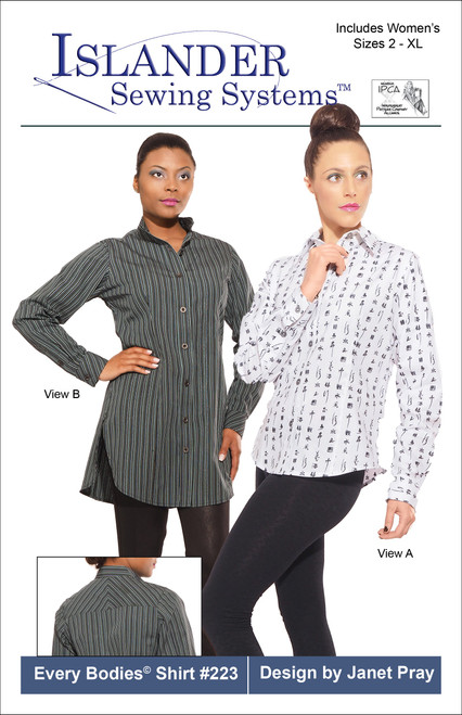 EB-Every Bodies Cotton Shirting Kit Without Pattern - All Sizes $54.36 (Retail Value $67.95)