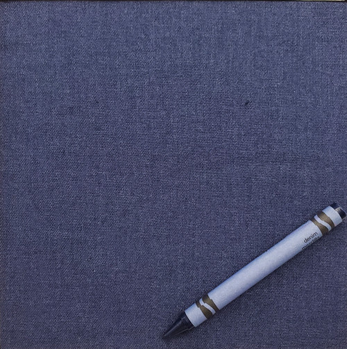 """Solid: Blue Night, 100% Brushed Cotton Shirting, 57"""" wide. $8.99 per half yard."""