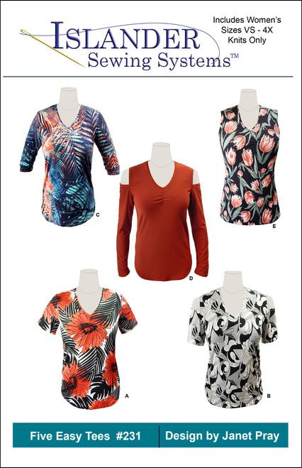 0 Rayon Jersey Tee Kit, VS - 2X, Animal print Rayon Jersey $57.71 ( $72.14 retail value). Bonus: Facebook Live Sew-a-Long.
