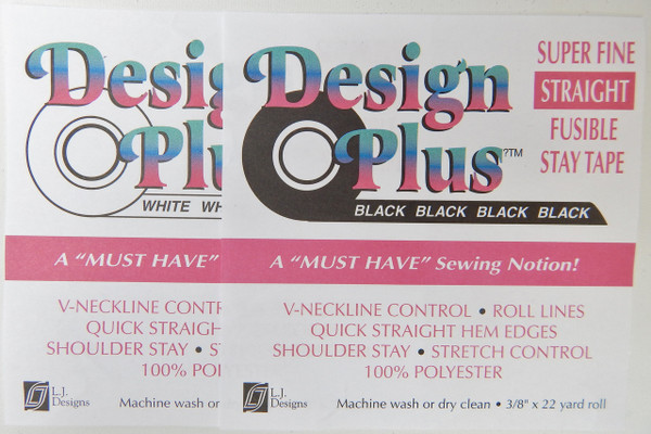 T Design Plus Super Fine Straight Fusible Stay Tape - Islander Sewing