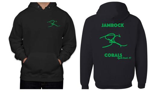 Jamrock Corals Hoodies