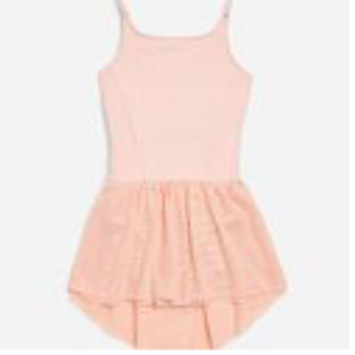 Child Large Mesh Leotard Dress