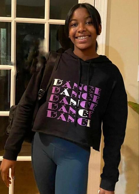Dance 5 Crop Hoodie