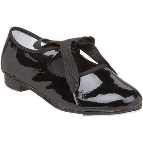 Black Bow Tap Shoes