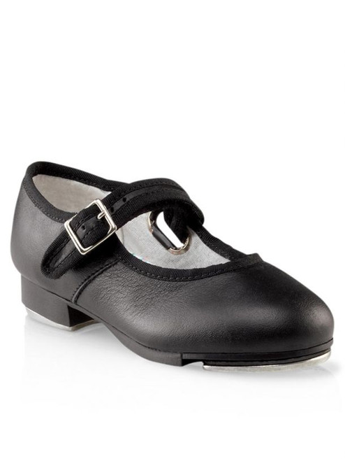 Adult Black Mary Jane Tap Shoes