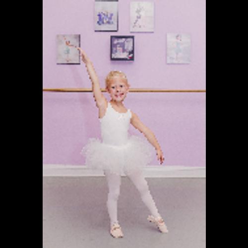 White Small Child Ballerina Tutu