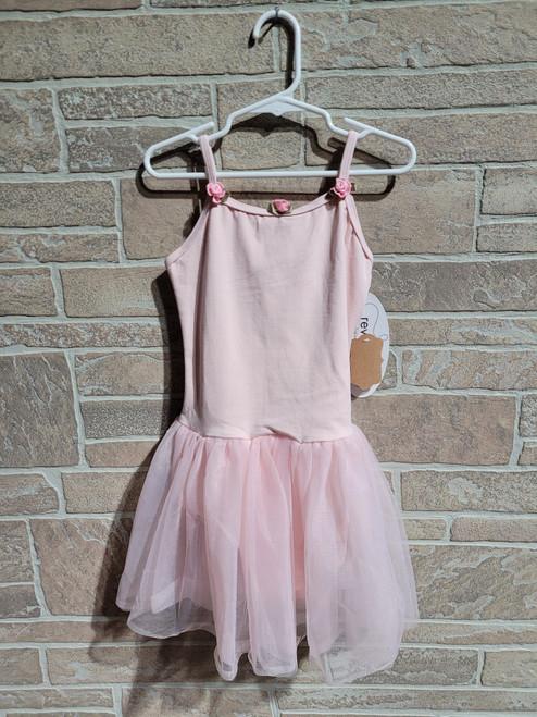 Blush Pink Rosette Tutu Dress