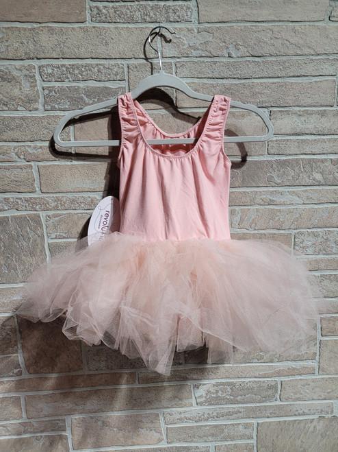 Blush Pink Netted Tutu Dress