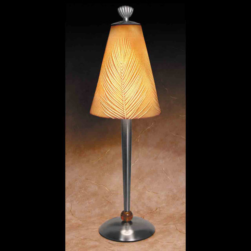 PALM FRONDS CONTEMPORARY LAMP