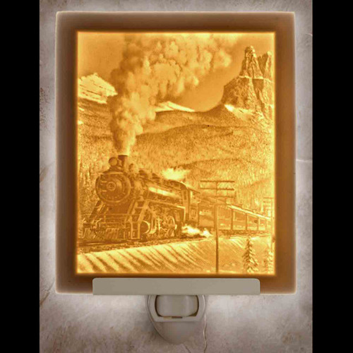 STEAM TRAIN NIGHT LIGHT