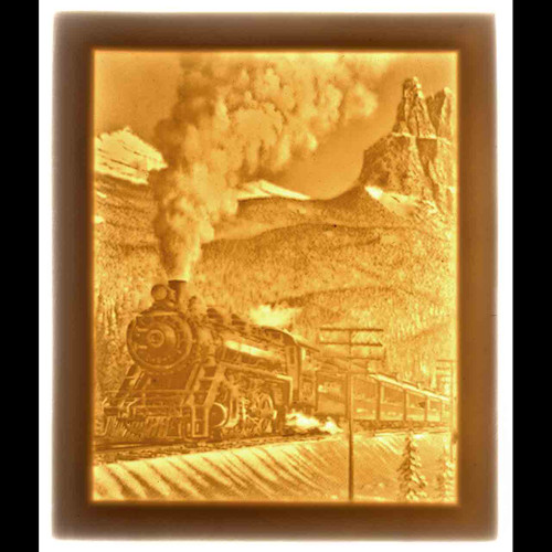 STEAM TRAIN- UNMOUNTED PANEL ONLY