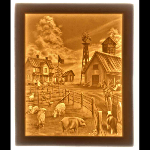 FARM LIFE- UNMOUNTED PANEL ONLY