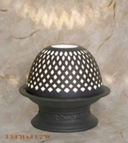 """Silhouette Porcelain Votive Dome Lamp """"Sydney"""""""