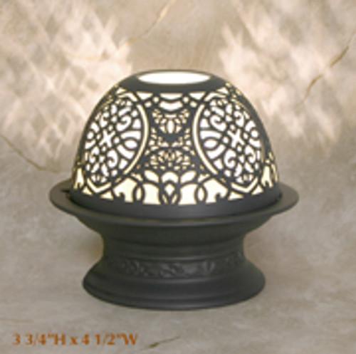 "Silhouette Porcelain Votive Dome Lamp ""Alhambra"""
