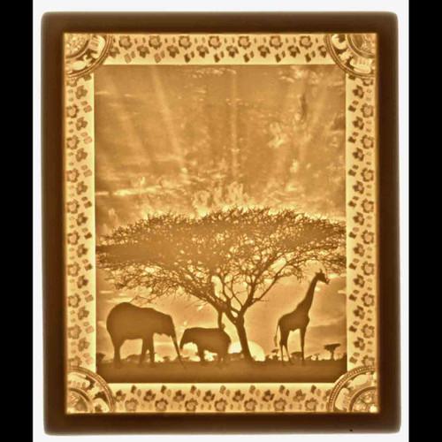 AFRICAN SUNSET-U166