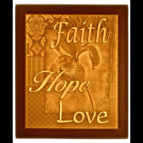FAITH HOPE LOVE-U247