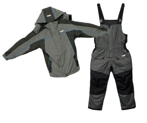 IceRunner float suits provide comfort and warmth while fishing on the ice.