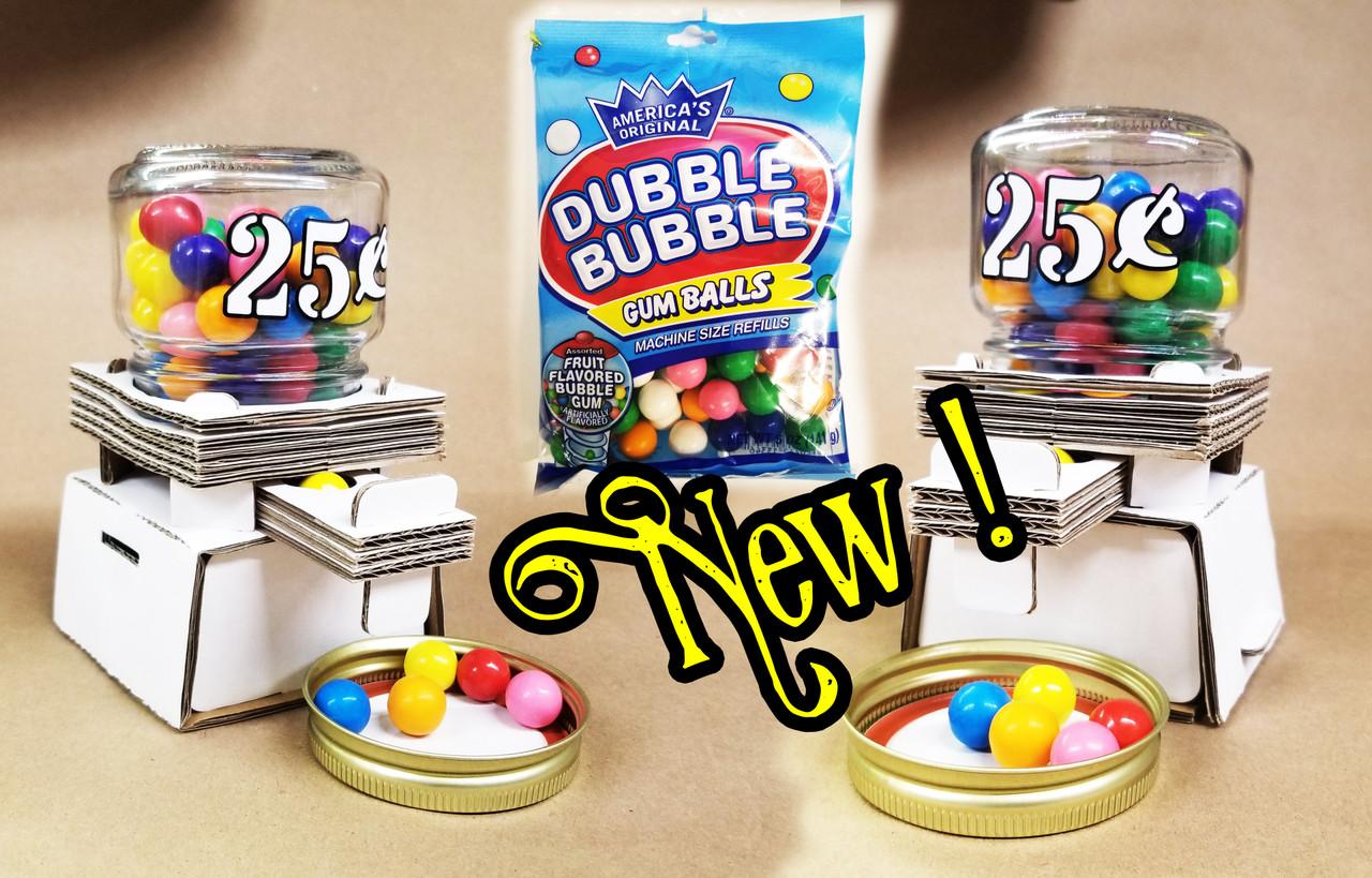 Mason Jar Gum Ball 3D Puzzle